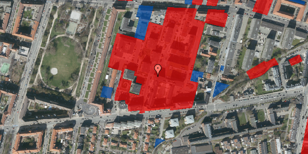 Jordforureningskort på Nimbusparken 22, st. , 2000 Frederiksberg