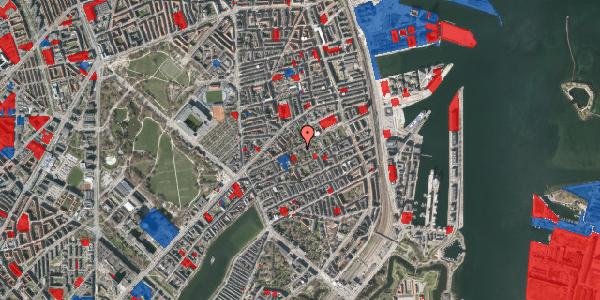 Jordforureningskort på Rosenvængets Hovedvej 6B, 2100 København Ø