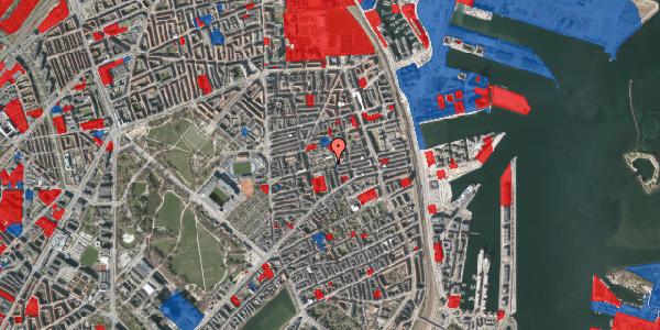 Jordforureningskort på Gammel Kalkbrænderi Vej 11B, 2100 København Ø