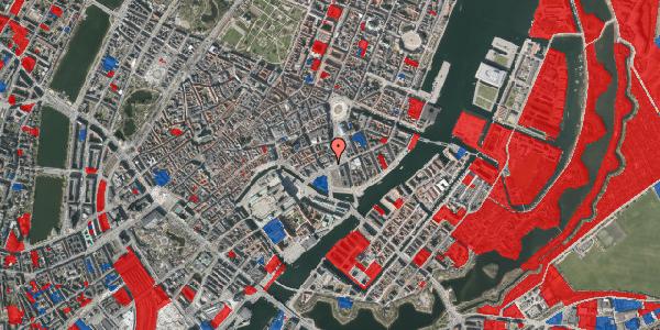 Jordforureningskort på Holmens Kanal 16, 1060 København K