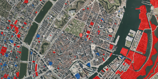 Jordforureningskort på Møntergade 24, 1116 København K
