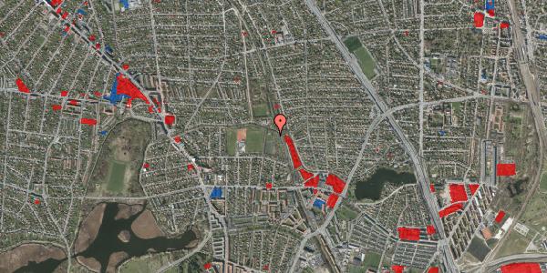 Jordforureningskort på Rødhalsgangen 19, 2400 København NV