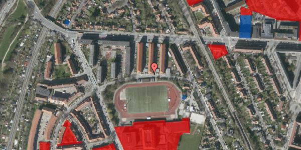 Jordforureningskort på Lauritz-Jensens Plads 1, 2000 Frederiksberg