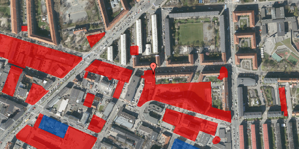 Jordforureningskort på Birkedommervej 25, 1. , 2400 København NV