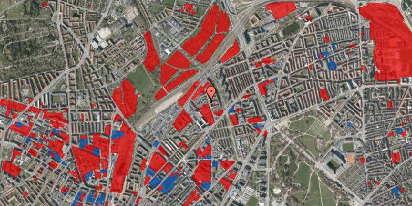Jordforureningskort på Emblasgade 133, 2100 København Ø