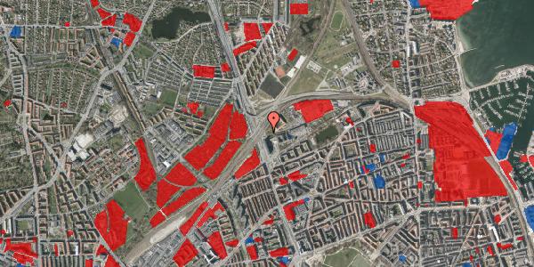 Jordforureningskort på Lyngbyvej 98A, 2100 København Ø