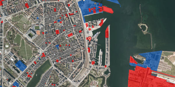 Jordforureningskort på Kalkbrænderihavnsgade 4D, st. tv, 2100 København Ø