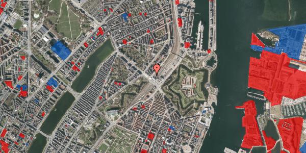 Jordforureningskort på Østbanegade 2, 2100 København Ø