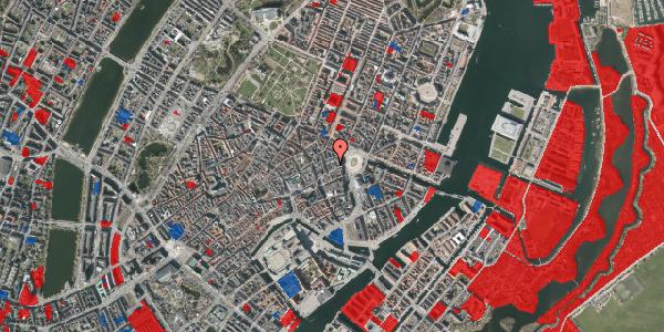 Jordforureningskort på Østergade 16B, 3. th, 1100 København K