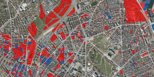 Jordforureningskort på Aldersrogade 8, 1. tv, 2100 København Ø