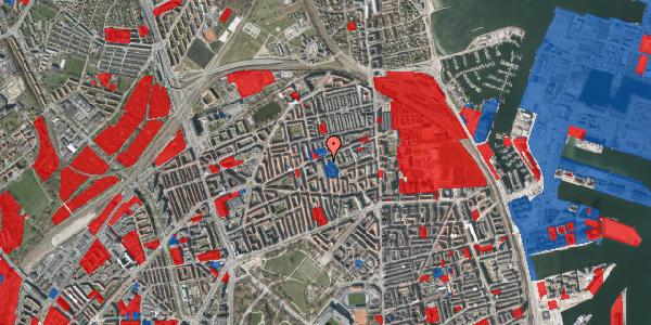 Jordforureningskort på Masnedøgade 30, 1. tv, 2100 København Ø