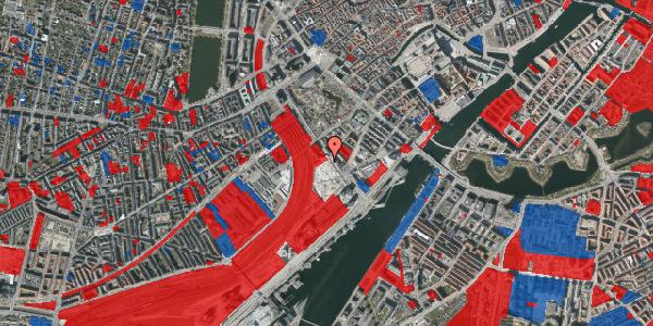 Jordforureningskort på Bernstorffsgade 34, 1577 København V