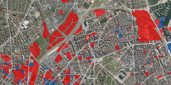 Jordforureningskort på H.P. Ørums Gade 11, 2100 København Ø