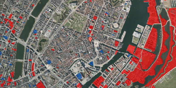 Jordforureningskort på Ny Østergade 7, 3. th, 1101 København K
