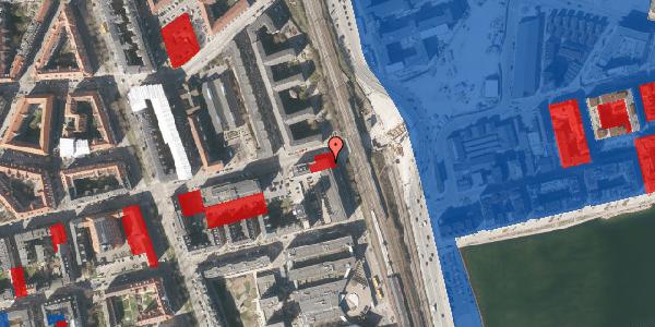 Jordforureningskort på Østbanegade 135, 2100 København Ø