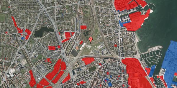 Jordforureningskort på Svanemøllens Kaserne 58, 2100 København Ø
