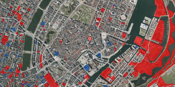 Jordforureningskort på Østergade 60, 1100 København K