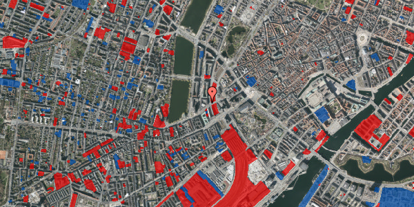 Jordforureningskort på Vester Farimagsgade 7, 6. mf, 1606 København V