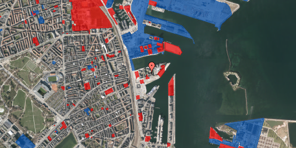 Jordforureningskort på Marmorvej 25, 3. tv, 2100 København Ø