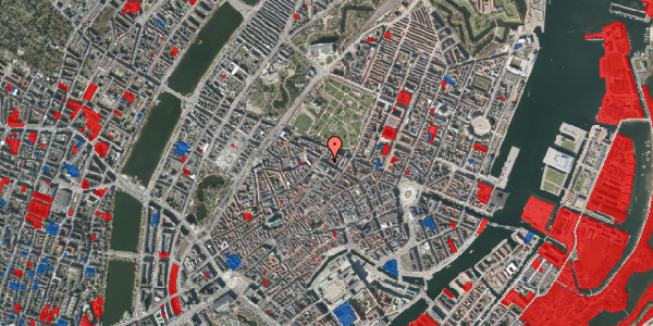 Jordforureningskort på Vognmagergade 9, 2. th, 1120 København K
