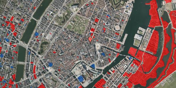 Jordforureningskort på Grønnegade 3, 1. th, 1107 København K