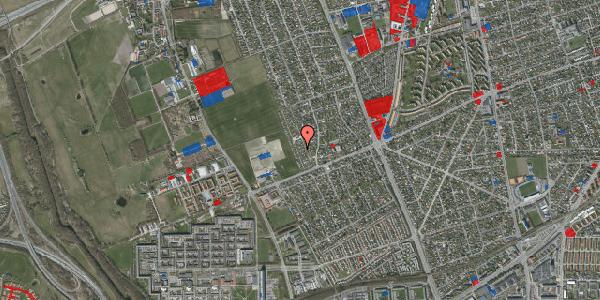 Jordforureningskort på Hf. Dahlia 91, 2650 Hvidovre
