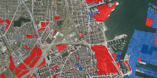 Jordforureningskort på Svanemøllens Kaserne 14, st. , 2100 København Ø