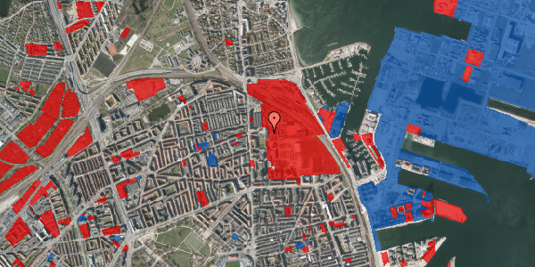 Jordforureningskort på Carl Nielsens Allé 9C, 2. , 2100 København Ø