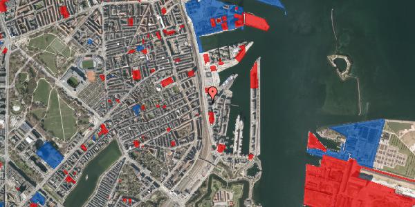 Jordforureningskort på Kalkbrænderihavnsgade 4C, 2. th, 2100 København Ø