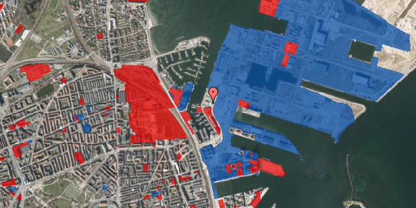 Jordforureningskort på Sundkrogen 4, k2. , 2100 København Ø
