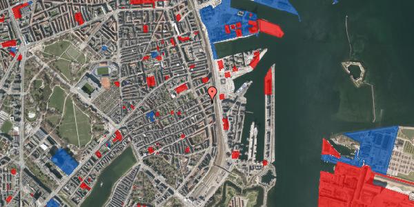 Jordforureningskort på Præstøgade 20, 2100 København Ø