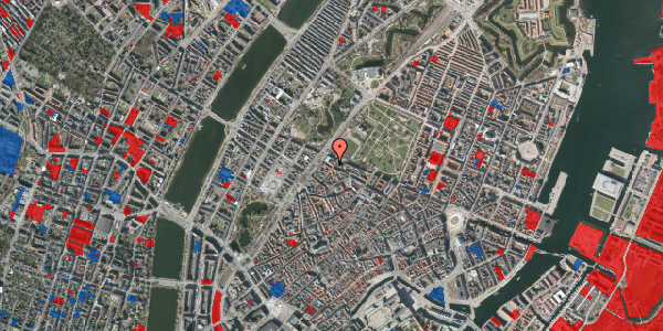 Jordforureningskort på Rosenborggade 15, 3. , 1130 København K