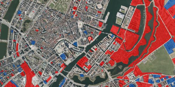 Jordforureningskort på Havnegade 27, 1058 København K