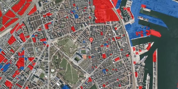 Jordforureningskort på Gunnar Nu Hansens Plads 8, 2100 København Ø