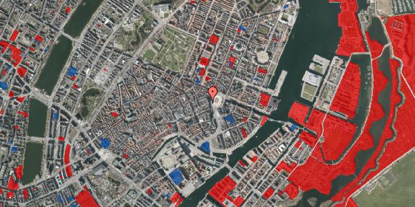 Jordforureningskort på Østergade 4A, 1. , 1100 København K