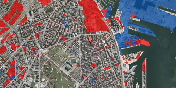 Jordforureningskort på Korsørgade 1, 2100 København Ø