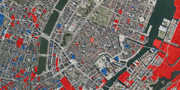 Jordforureningskort på Klosterstræde 25, 3. , 1157 København K