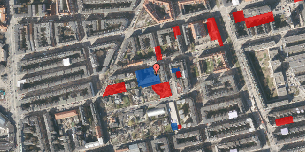 Jordforureningskort på Viborggade 70E, 2. , 2100 København Ø