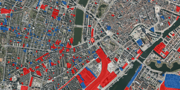 Jordforureningskort på Meldahlsgade 1, 1613 København V