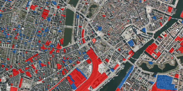 Jordforureningskort på Bernstorffsgade 1B, 3. , 1577 København V