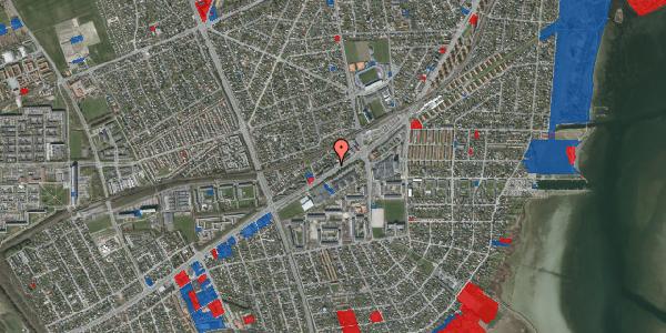 Jordforureningskort på Gammel Køge Landevej 376A, st. , 2650 Hvidovre
