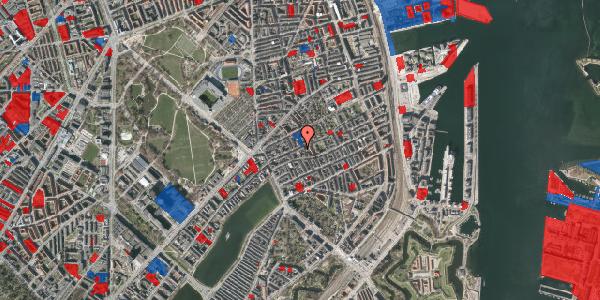 Jordforureningskort på Rosenvængets Allé 20A, 5. th, 2100 København Ø