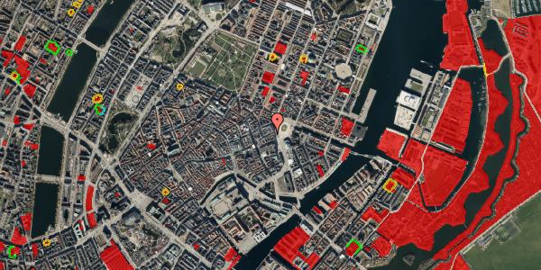 Jordforureningskort på Østergade 3, 3. , 1100 København K