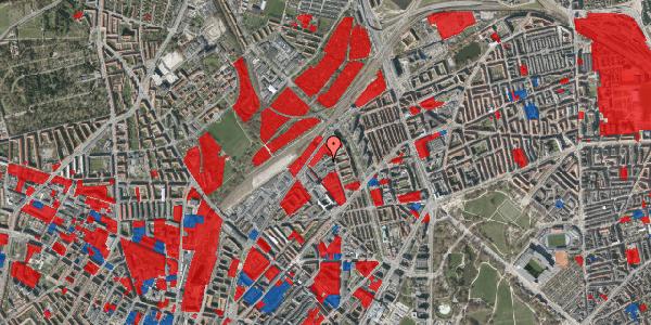 Jordforureningskort på Emblasgade 51, 1. th, 2100 København Ø
