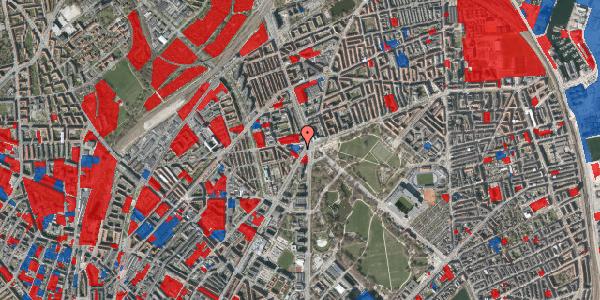 Jordforureningskort på Jagtvej 171A, 2. th, 2100 København Ø