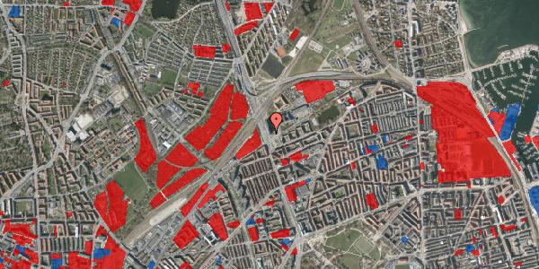 Jordforureningskort på Hans Knudsens Plads 1B, 2100 København Ø
