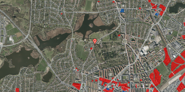 Jordforureningskort på Støvnæs Allé 44, 2400 København NV