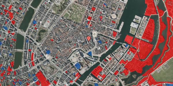 Jordforureningskort på Bremerholm 18, 4. th, 1069 København K