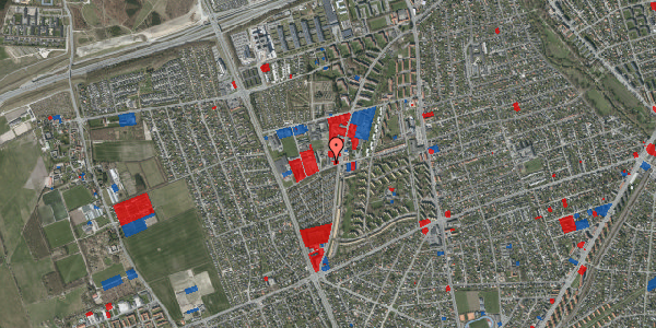 Jordforureningskort på Bibliotekvej 58, 1. , 2650 Hvidovre