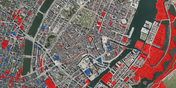 Jordforureningskort på Silkegade 6, 1113 København K